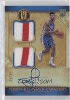 Rookie Jersey Autographs Double Prime - Timothe Luwawu-Cabarrot /25
