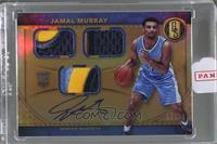 Rookie Jersey Autographs Triple Prime - Jamal Murray /25 [ENCASED]