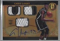 Rookie Jersey Autographs Triple Prime - Caris LeVert /25