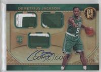 Rookie Jersey Autographs Triple Prime - Demetrius Jackson /25