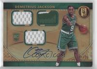 Rookie Jersey Autographs Triple Prime - Demetrius Jackson [EXtoNM] …