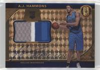 Rookie Jersey Autographs Jumbos Prime - A.J. Hammons #/25