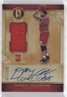 Rookie Jersey Autographs - Denzel Valentine #/199