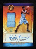 Rookie Jersey Autographs - Malik Beasley #/199