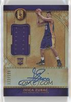 Rookie Jersey Autographs - Ivica Zubac #/199