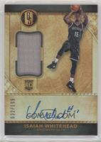 Rookie Jersey Autographs - Isaiah Whitehead #32/199