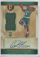 Rookie Jersey Autographs - Demetrius Jackson /199