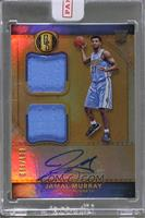 Rookie Jersey Autographs Double - Jamal Murray [Uncirculated] #/149