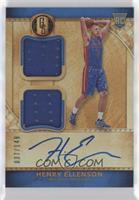 Rookie Jersey Autographs Double - Henry Ellenson [EXtoNM] #/149