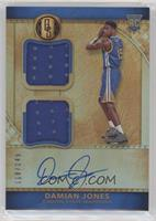 Rookie Jersey Autographs Double - Damian Jones /149