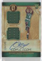 Rookie Jersey Autographs Double - Demetrius Jackson #/149
