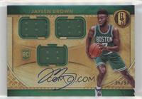 Rookie Jersey Autographs Triple - Jaylen Brown /99