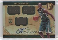 Rookie Jersey Autographs Triple - Thon Maker /99