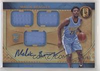 Rookie Jersey Autographs Triple - Malik Beasley #/99