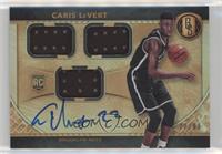 Rookie Jersey Autographs Triple - Caris LeVert /99