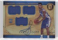 Rookie Jersey Autographs Triple - Timothe Luwawu-Cabarrot #/99