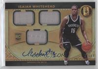 Rookie Jersey Autographs Triple - Isaiah Whitehead #/99