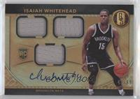 Rookie Jersey Autographs Triple - Isaiah Whitehead [EX to NM] #/99