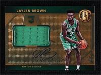 Rookie Jersey Autographs Jumbos - Jaylen Brown #/49