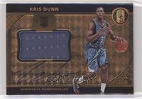 Rookie Jersey Autographs Jumbos - Kris Dunn #/49