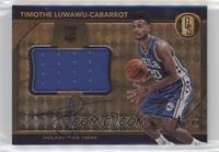 Rookie Jersey Autographs Jumbos - Timothe Luwawu-Cabarrot #/49
