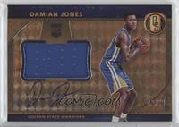 Rookie Jersey Autographs Jumbos - Damian Jones #/49