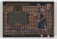 Rookie Jersey Autographs Jumbos - Malcolm Brogdon #/49