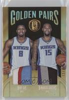 DeMarcus Cousins, Rudy Gay /15