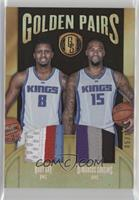 DeMarcus Cousins, Rudy Gay #/15