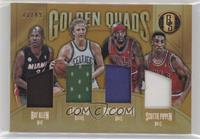 Ray Allen, Larry Bird, Richard Hamilton, Scottie Pippen #/49