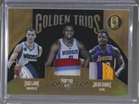 Julius Randle, Rudy Gay, Zach LaVine /15