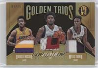Myles Turner, D'Angelo Russell, Justise Winslow #1/15