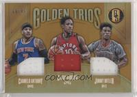 Carmelo Anthony, DeMar DeRozan, Jimmy Butler [EX to NM] #/49
