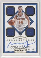 Rookie Cornerstones - Willy Hernangomez [Noted] #/99