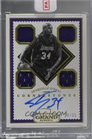 Shaquille O'Neal [Uncirculated] #29/35