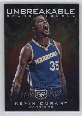 2016-17 Panini Grand Reserve - Unbreakable #UN-6 - Kevin Durant