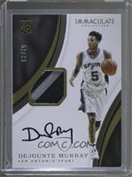 Rookie Patch Autographs - Dejounte Murray /99