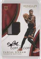Rookie Patch Autographs - Pascal Siakam [Noted] #/99