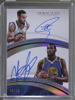 Stephen Curry, Kevin Durant /49