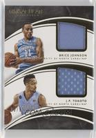 Brice Johnson, J.P. Tokoto /99