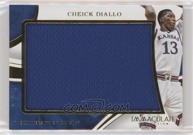2016-17 Panini Immaculate Collection Collegiate - Immaculate Jumbos #24 - Cheick Diallo /25