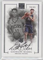 Rookie Autographs - Georges Niang /49