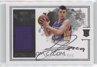 Elegance Rookie Jersey Autographs - Ivica Zubac /49