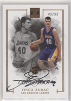 Rookie Autographs - Ivica Zubac #/99