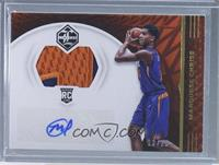 Rookie Jersey Autographs - Marquese Chriss /25
