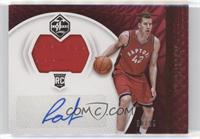 Rookie Jersey Autographs - Jakob Poeltl #/99