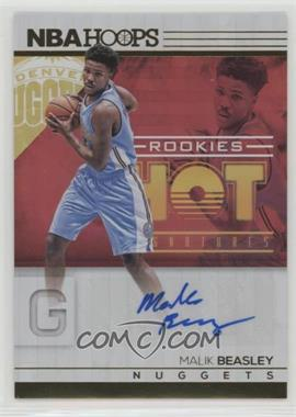 2016-17 Panini NBA Hoops - Hot Signatures Rookies #15 - Malik Beasley