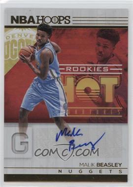 2016-17 Panini NBA Hoops - Hot Signatures Rookies #15 - Malik Beasley
