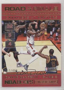 2016-17 Panini NBA Hoops - Road to the Finals #69 - Conference Finals - DeMar DeRozan /499