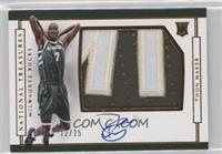 Rookie Patch Autographs Horizontal - Thon Maker #/25